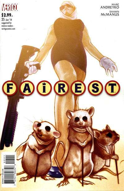 Fairest #25 Comic Books - Covers, Scans, Photos  in Fairest Comic Books - Covers, Scans, Gallery