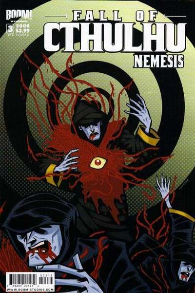 Fall of Cthulhu: Nemesis #3 comic books - cover scans photos Fall of Cthulhu: Nemesis #3 comic books - covers, picture gallery