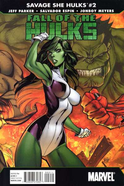 Fall of the Hulks: The Savage She-Hulks #2 Comic Books - Covers, Scans, Photos  in Fall of the Hulks: The Savage She-Hulks Comic Books - Covers, Scans, Gallery