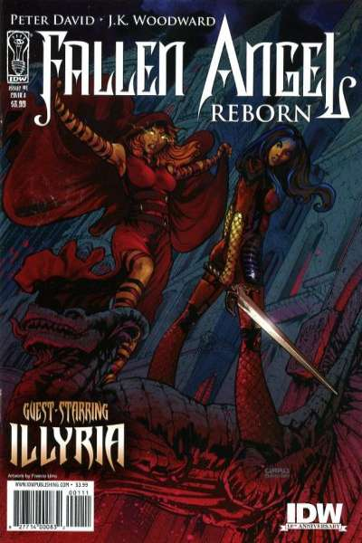 Fallen Angel Reborn comic books