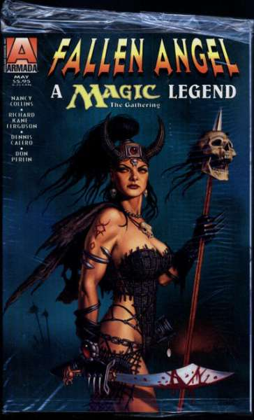 Fallen Angel on the World of Magic: The Gathering #1 comic books - cover scans photos Fallen Angel on the World of Magic: The Gathering #1 comic books - covers, picture gallery