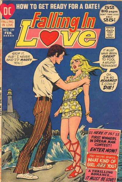 Falling in Love #129 comic books for sale