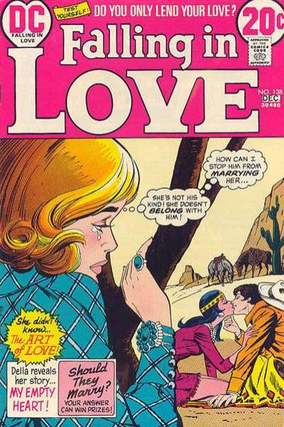 Falling in Love #138 comic books for sale