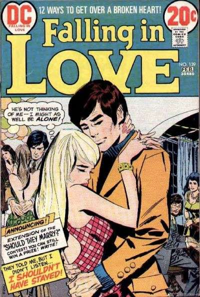 Falling in Love #139 comic books for sale