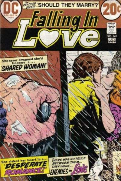 Falling in Love #141 comic books for sale