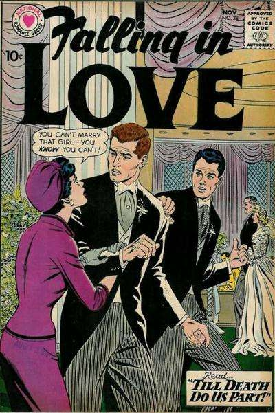 Falling in Love #38 comic books for sale