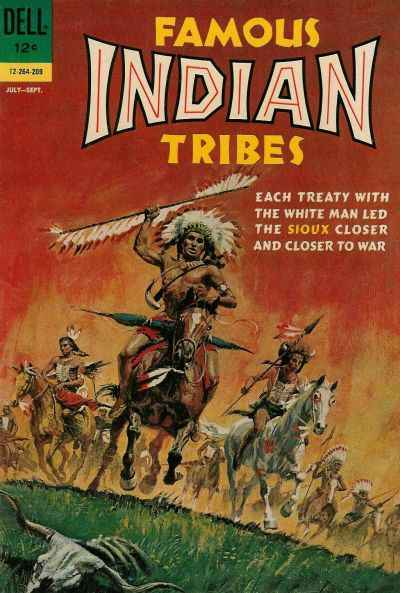 Famous Indian Tribes #1 Comic Books - Covers, Scans, Photos  in Famous Indian Tribes Comic Books - Covers, Scans, Gallery
