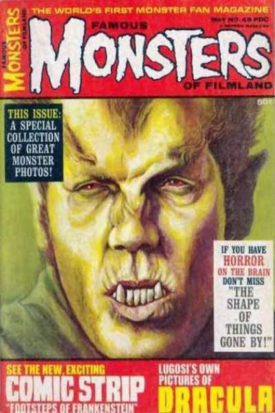 Famous Monsters of Filmland #49 comic books - cover scans photos Famous Monsters of Filmland #49 comic books - covers, picture gallery
