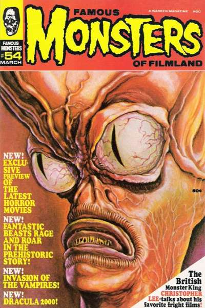 Famous Monsters of Filmland #54 comic books for sale
