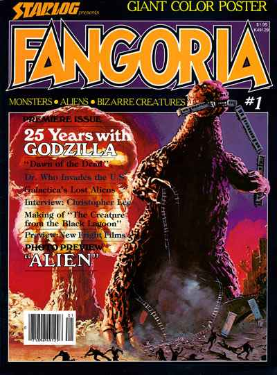 Fangoria Magazine comic books