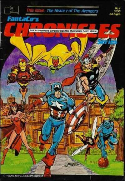 Fantaco's Chronicles Series #4 comic books for sale