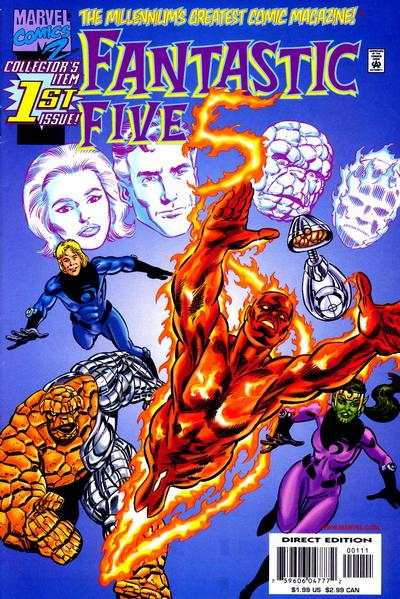 Fantastic Five #1 comic books - cover scans photos Fantastic Five #1 comic books - covers, picture gallery