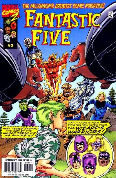 Fantastic Five #2 Comic Books - Covers, Scans, Photos  in Fantastic Five Comic Books - Covers, Scans, Gallery