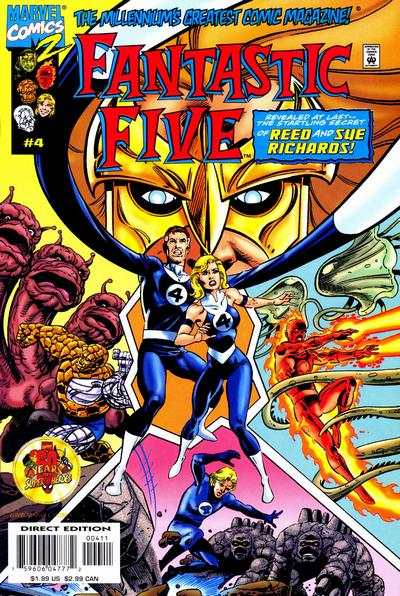 Fantastic Five #4 comic books - cover scans photos Fantastic Five #4 comic books - covers, picture gallery