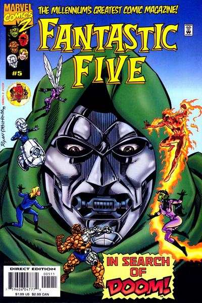 Fantastic Five #5 comic books for sale