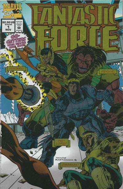 Fantastic Force # comic book complete sets Fantastic Force # comic books