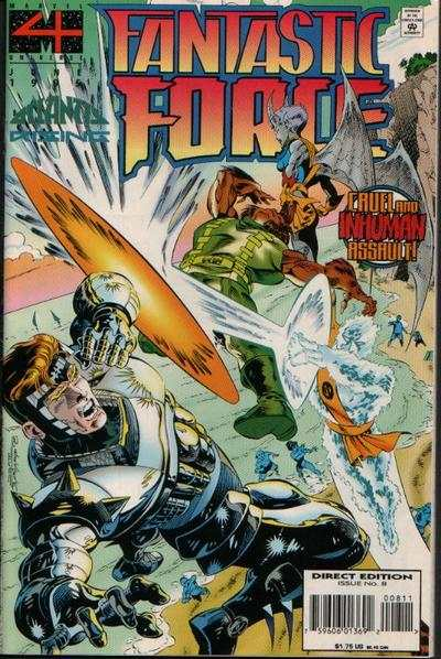 Fantastic Force #8 comic books for sale