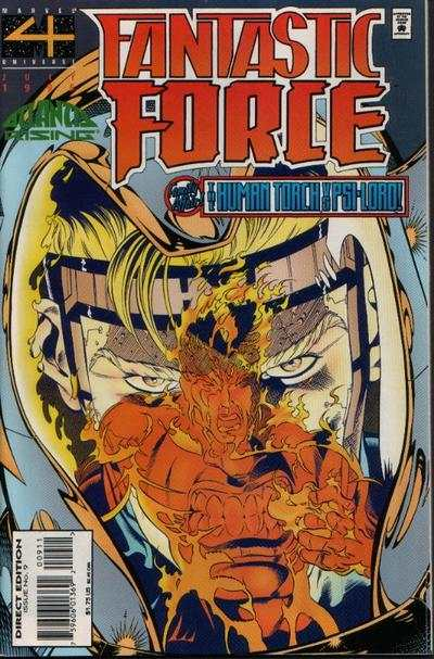 Fantastic Force #9 comic books for sale