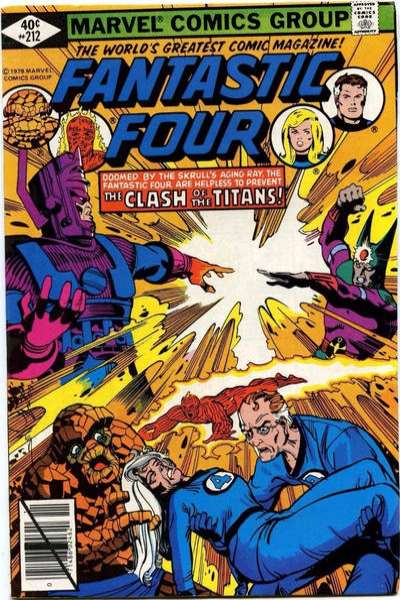 Fantastic Four #212 Comic Books - Covers, Scans, Photos  in Fantastic Four Comic Books - Covers, Scans, Gallery