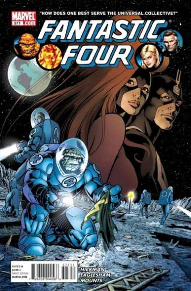 Fantastic Four #577 Comic Books - Covers, Scans, Photos  in Fantastic Four Comic Books - Covers, Scans, Gallery