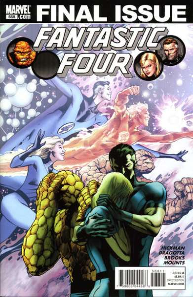 Fantastic Four #588 comic books - cover scans photos Fantastic Four #588 comic books - covers, picture gallery