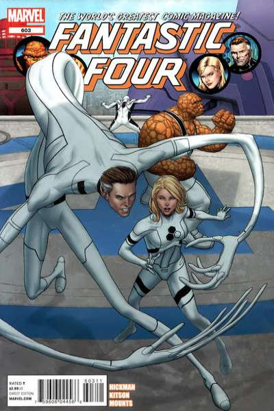 Fantastic Four #603 comic books - cover scans photos Fantastic Four #603 comic books - covers, picture gallery