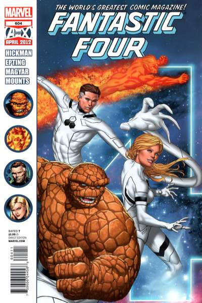 Fantastic Four #604 comic books for sale