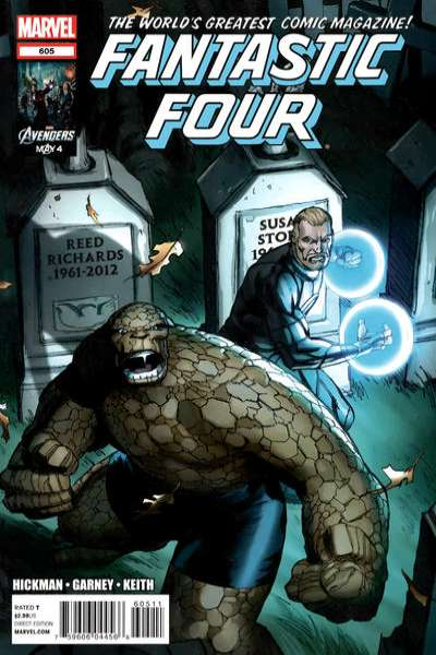 Fantastic Four #605 comic books - cover scans photos Fantastic Four #605 comic books - covers, picture gallery