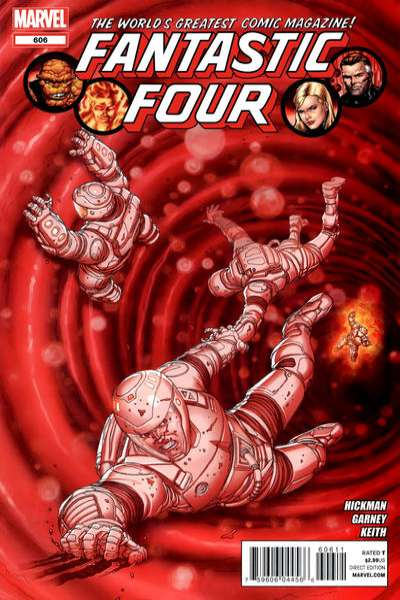 Fantastic Four #606 comic books - cover scans photos Fantastic Four #606 comic books - covers, picture gallery