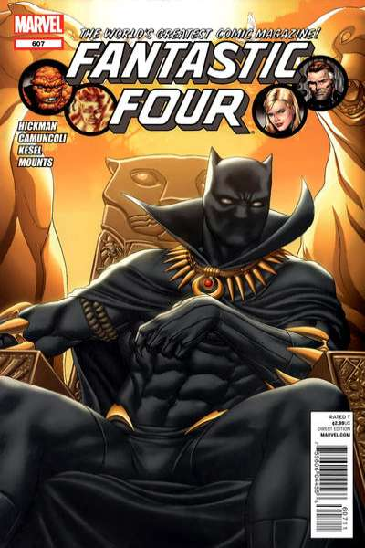 Fantastic Four #607 comic books for sale