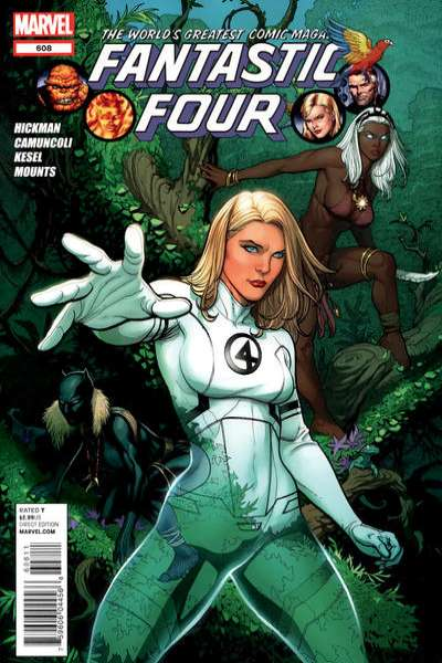 Fantastic Four #608 comic books - cover scans photos Fantastic Four #608 comic books - covers, picture gallery