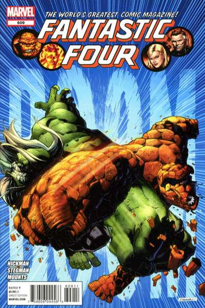 Fantastic Four #609 comic books - cover scans photos Fantastic Four #609 comic books - covers, picture gallery