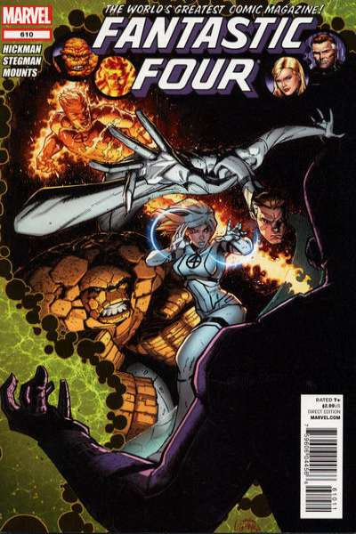 Fantastic Four #610 Comic Books - Covers, Scans, Photos  in Fantastic Four Comic Books - Covers, Scans, Gallery