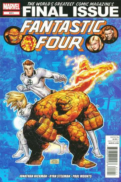 Fantastic Four #611 Comic Books - Covers, Scans, Photos  in Fantastic Four Comic Books - Covers, Scans, Gallery