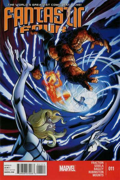 Fantastic Four #11 Comic Books - Covers, Scans, Photos  in Fantastic Four Comic Books - Covers, Scans, Gallery