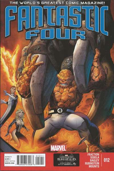 Fantastic Four #12 Comic Books - Covers, Scans, Photos  in Fantastic Four Comic Books - Covers, Scans, Gallery