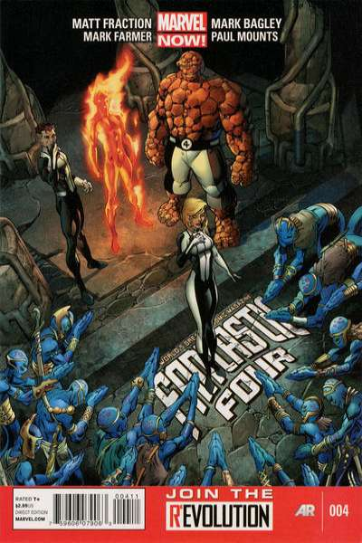 Fantastic Four #4 Comic Books - Covers, Scans, Photos  in Fantastic Four Comic Books - Covers, Scans, Gallery