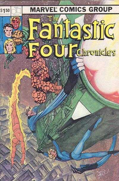 Fantastic Four Chronicles comic books