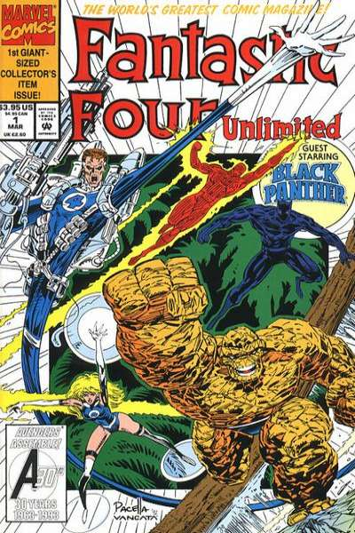 Fantastic Four Unlimited comic books