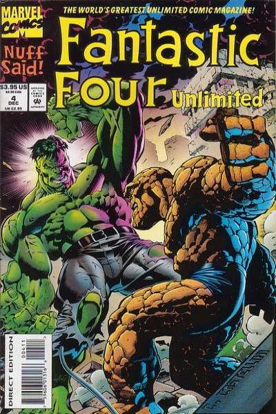 Fantastic Four Unlimited #4 comic books for sale
