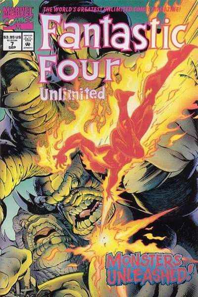 Fantastic Four Unlimited #7 comic books for sale