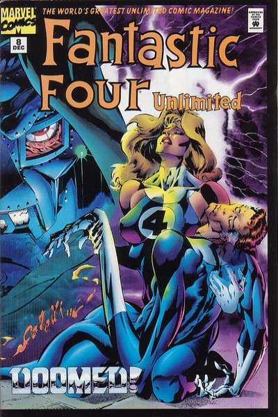 Fantastic Four Unlimited #8 comic books for sale