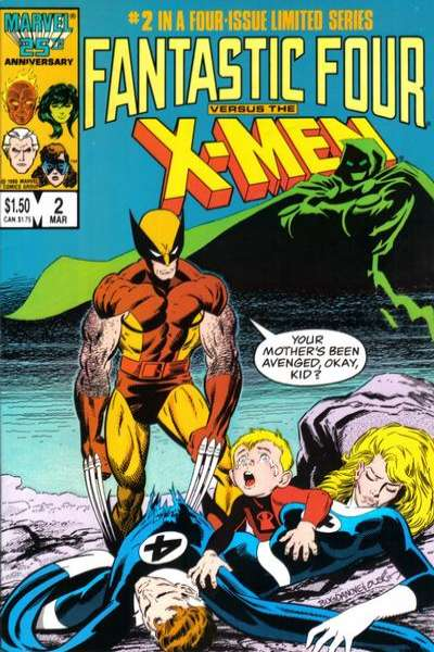 Fantastic Four vs. the X-Men #2 comic books for sale