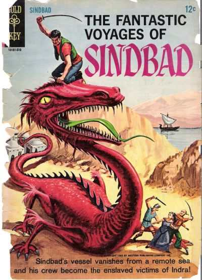 Fantastic Voyages of Sindbad comic books
