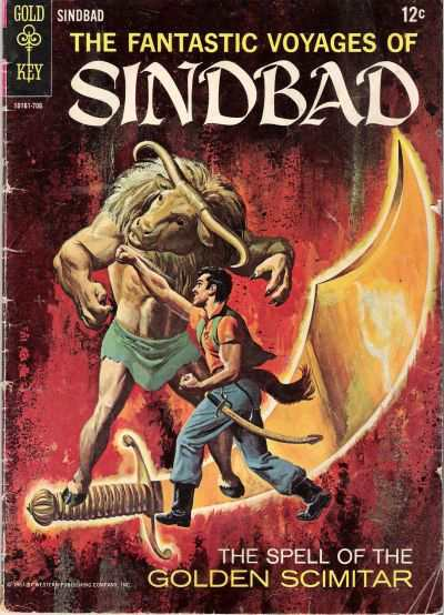 Fantastic Voyages of Sindbad #2 comic books - cover scans photos Fantastic Voyages of Sindbad #2 comic books - covers, picture gallery