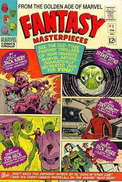Fantasy Masterpieces Comic Books. Fantasy Masterpieces Comics.