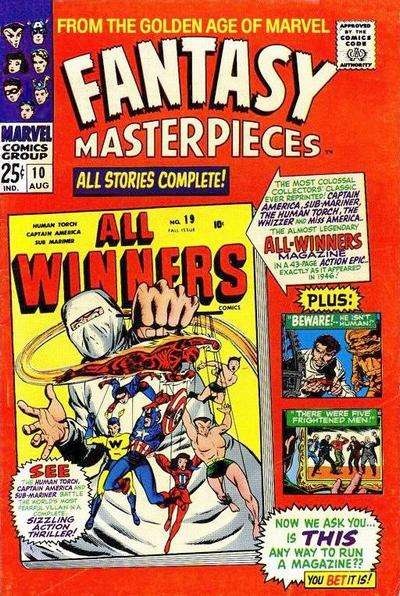 Fantasy Masterpieces #10 comic books for sale