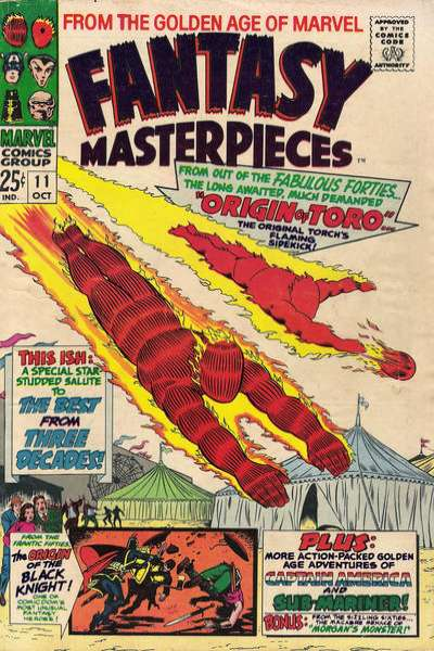 Fantasy Masterpieces #11 comic books for sale