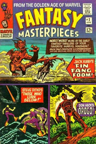 Fantasy Masterpieces #2 comic books for sale