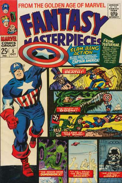 Fantasy Masterpieces #5 comic books for sale